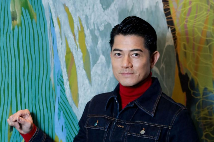Pop star Aaron Kwok, 53, tied the knot in April 2017 and welcomed a baby girl in September later that year.
