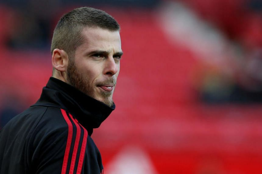 Manchester United's David de Gea has been at the centre of a drawn-out contract saga at United.