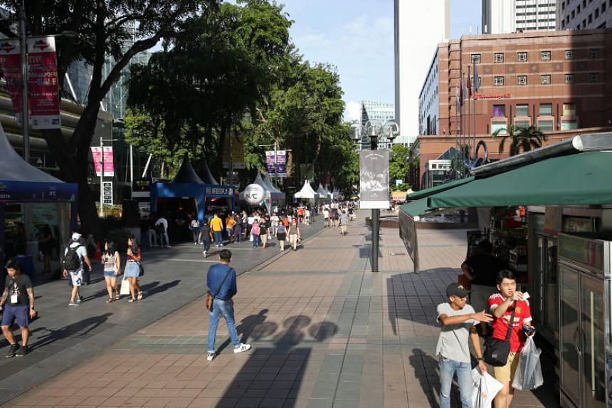 About 40 designated smoking areas have been set up as of Nov 22 at suitable locations to ensure that the main Orchard Road pedestrian thoroughfare would be free of cigarette smoke.