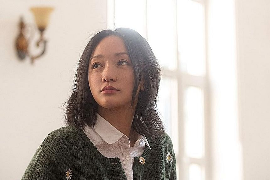 Zhihua (played by Zhou Xun) gets mistaken for her dead sister in Last Letter.