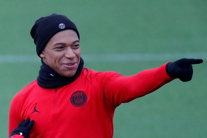 Footballer Kylian Mbappe posted a video online to welcome Chinese singer Jacky Cheung to Paris.