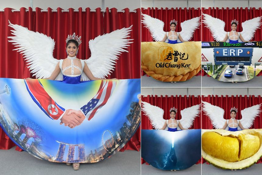 The design of the Miss Universe Singapore national costume has sparked off a sea of memes and parodies.