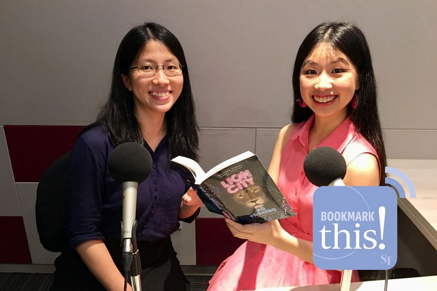 Bookmark This! podcast hosts Toh Wen Li (left) and Olivia Ho discuss two bold new books hot off the press in the wake of the 2018 Singapore Writers Festival.