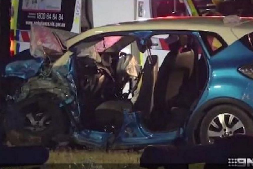 The accident occurred at the intersection of Remembrance Drive and Madden Road at about 8.15pm, on Nov 24, 2018.