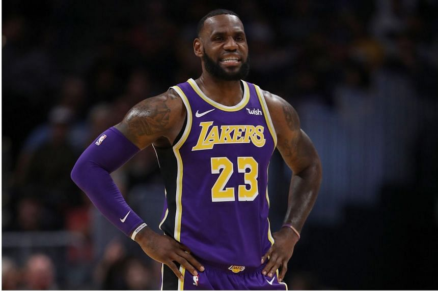 Lebron James blamed his side's offence, after the Los Angeles Lakers fell 117-85 to the Denver Nuggets.