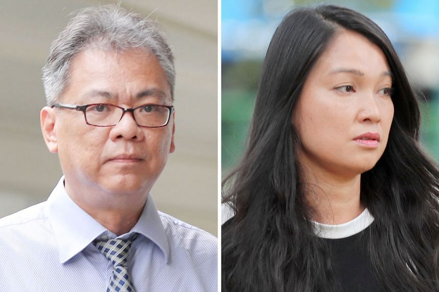 In 10 charges allegedly involving Cheng Choong Hung, Louise Lai Pei Hsien is said to have submitted invoices from I-KnowHow to NTU, NTUitive and TechBiz Xccelerator - a wholly-owned subsidiary of NTUitive - for works not done by her then-employer.