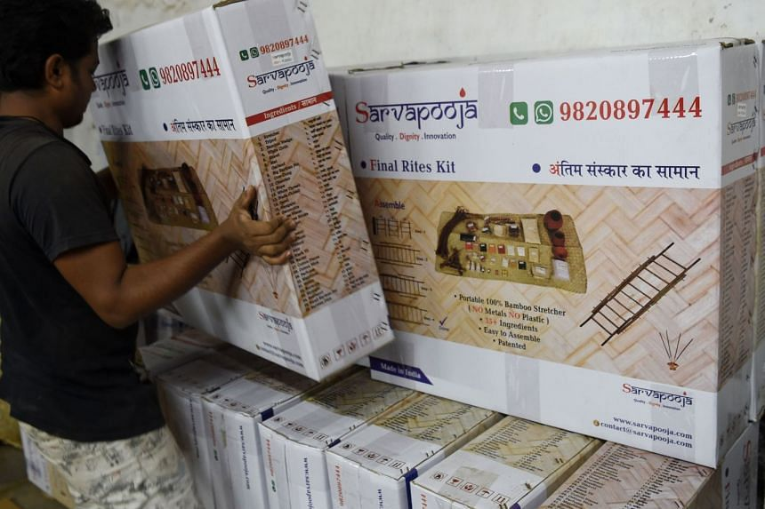 """Online start-up SarvaPooja has sold around 2,000 funeral kits for Hindu rites since its website's launch less than a year ago. Such """"final rite kits"""" include items for a Hindu ceremony such as earthen pots, incense sticks, cow urine and dung, r"""