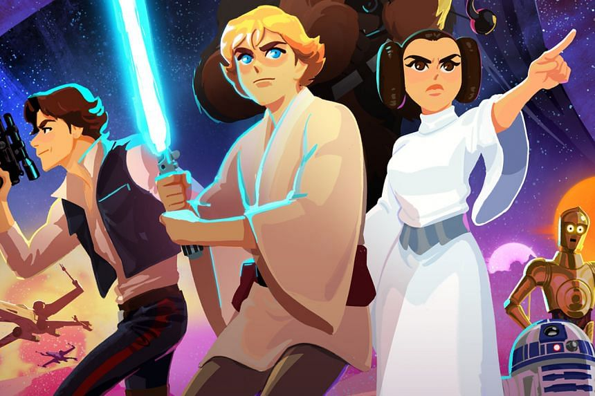 Six episodes from a new animated short series titled Star Wars Galaxy Of Adventures will be released on Nov 30, 2018.
