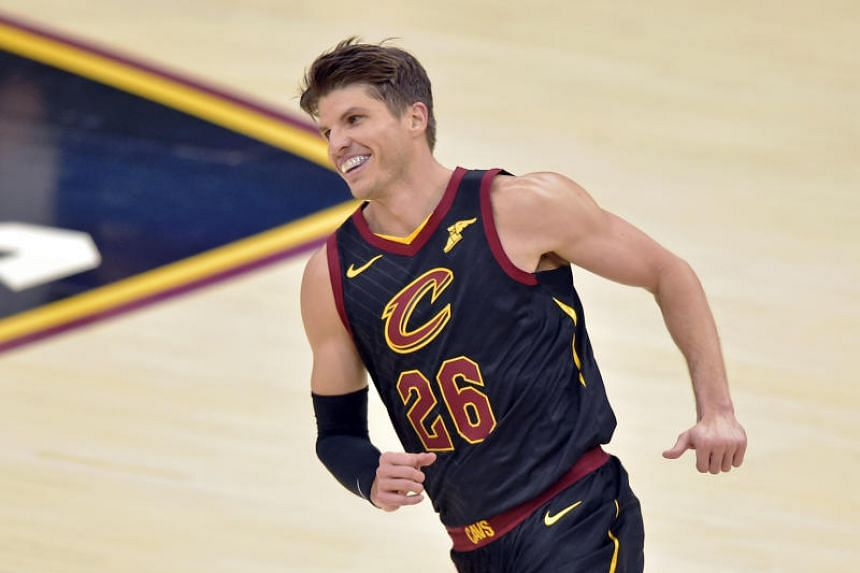 Cleveland Cavaliers guard Kyle Korver remains lethal as a shooter, however, hitting 46.3 per cent of his three-pointers, above his career average of 43.2 per cent.