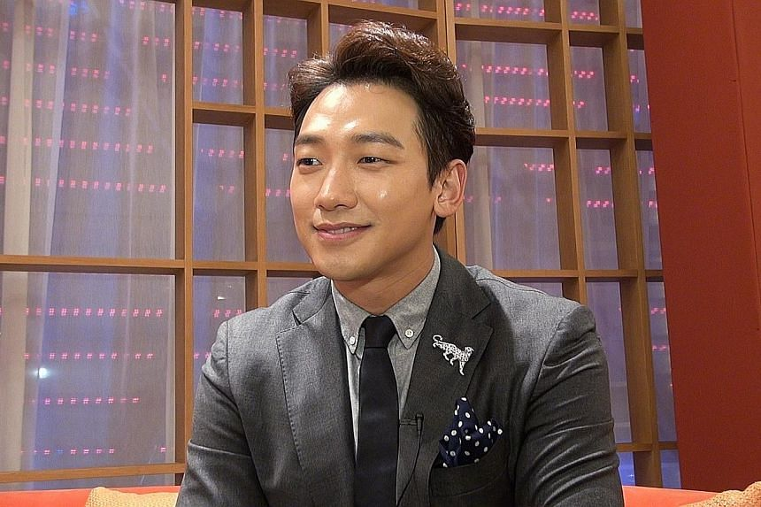 South Korean singer-actor Rain says he has a movie coming out next year and is also releasing a new album.