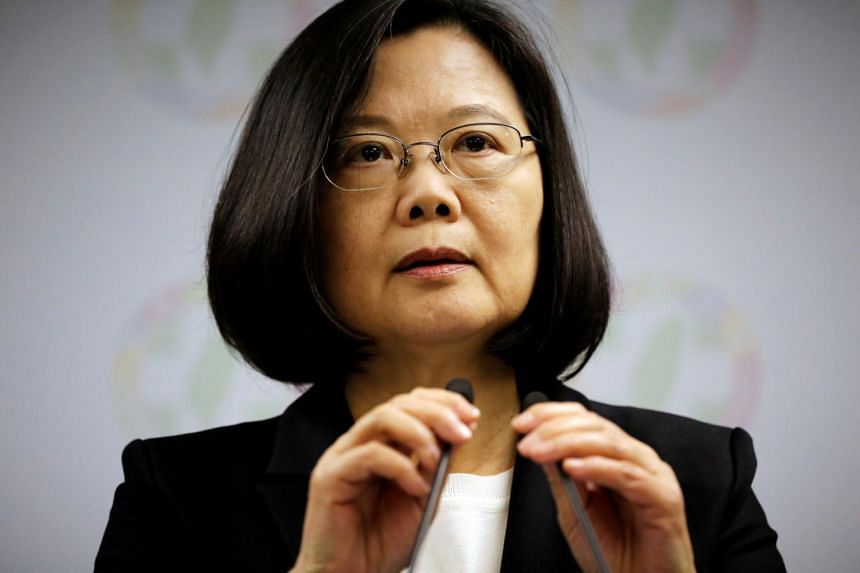 China has heaped pressure on Taiwan President Tsai Ing-wen since she took office in 2016, believing she wishes to push for the island's formal independence.