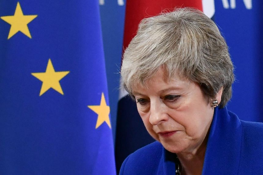 Theresa May focused on Brexit deal, not plan B