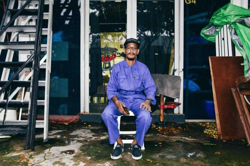 Local graffiti artist Muhammad Taufiq Rosle, who goes by the moniker Boon Baked, will be competing in Asia's first virtual reality graffiti battle come Saturday (Dec 1).