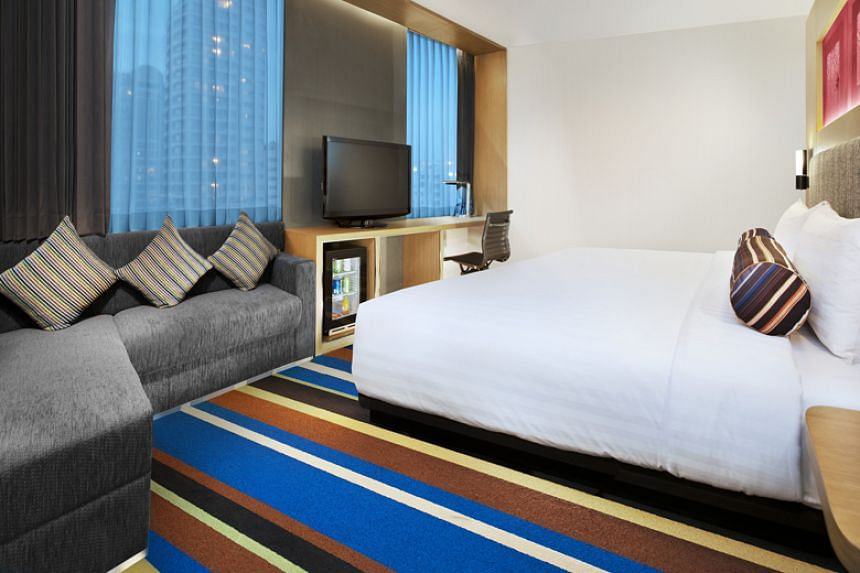 A room in Aloft Bangkok Sukhumvit 11, owned by the Starwood Group. Marriott International has been investigating a hack involving unauthorised access to the guest reservation database at its Starwood unit since 2014.