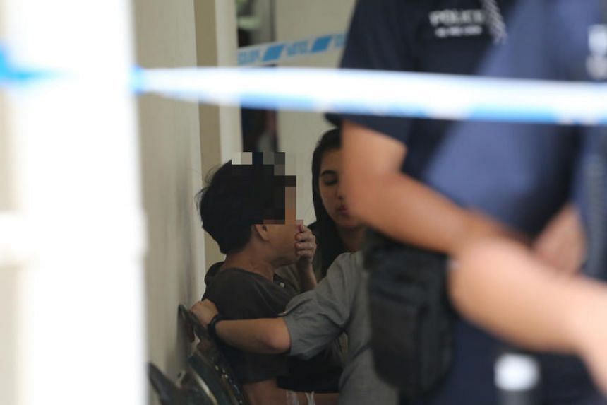 Police said that they were alerted to a case of unnatural death at Block 165 Gangsa Road at 12.35pm on Nov 30, 2018.