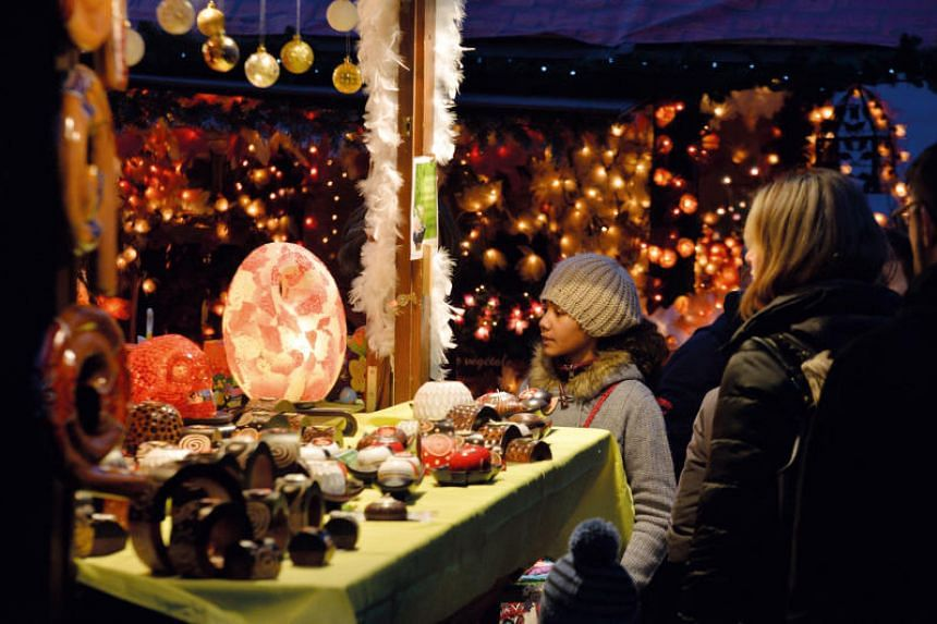 Montreux Noel in Switzerland promises fun for the whole family with a big ferris wheel, a 3D light show and workshops where kids can make candles and decorate chocolates.