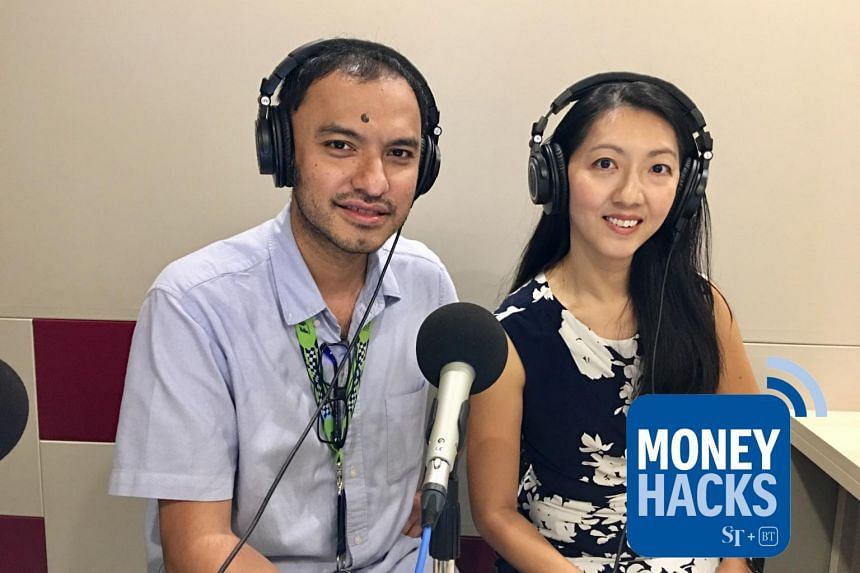 Money Hacks podcast host Ernest Luis (left) chats with Standard Chartered Bank Singapore's Natalia Goh and finds out how to make credit cards work harder for you.