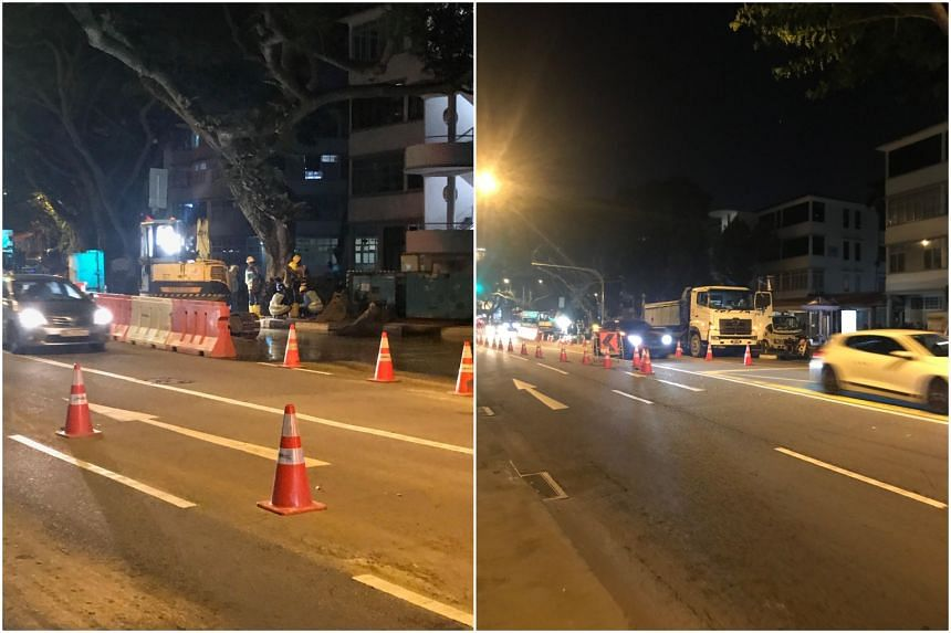 Due to a burst water pipe, several bus services plying Tiong Bahru Road have been diverted since Nov 29, 2018.