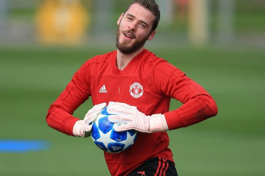6210b74bb Football  New David de Gea contract at top of Jose Mourinho s Manchester  United in tray