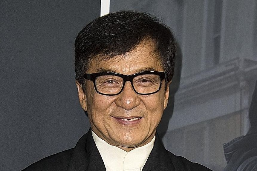 Jackie Chan wrote in his book Never Grow Up that he used to think his wife was after his money.