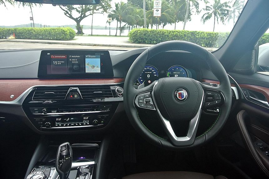 The BMW Alpina B5 Biturbo is effortless and pleasant to helm, offering a relaxed and pampering ride.