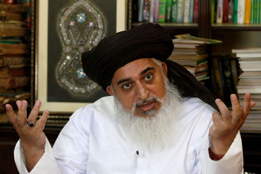 Firebrand cleric Khadim Hussain Rizvi and his party Tehreek-Labaik Pakistan held furious protests after the Supreme Court overturned the death penalty for Asia Bibi in October 2018.