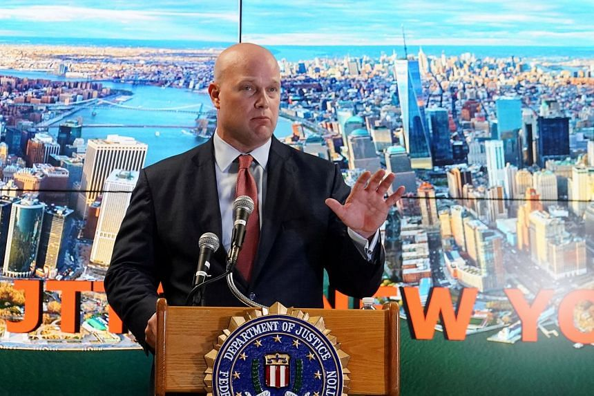 Mr Matthew Whitaker's appointment prompted an outcry in part because he had sharply criticised the investigation into Russia's election interference, which he now oversees as acting Attorney-General.