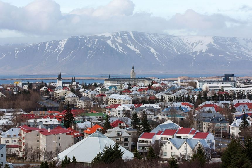 The skyline in Reykjavik. Iceland, the world's most gender equal society, has been dragged into a sordid political scandal suggesting blatant sexism is rife inside the country's Parliament.