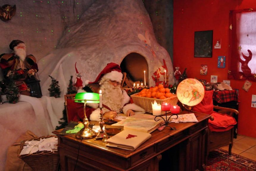 Visitors to Montreux Noel can also take the cogwheel railway up Rochers-de-Naye mountain to visit Santa Claus' house.