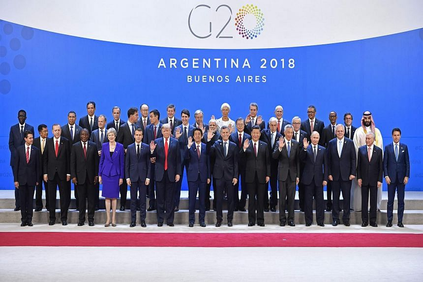 The run-up to the summit has been marked by deep disagreements between major powers over issues such as trade and climate change.