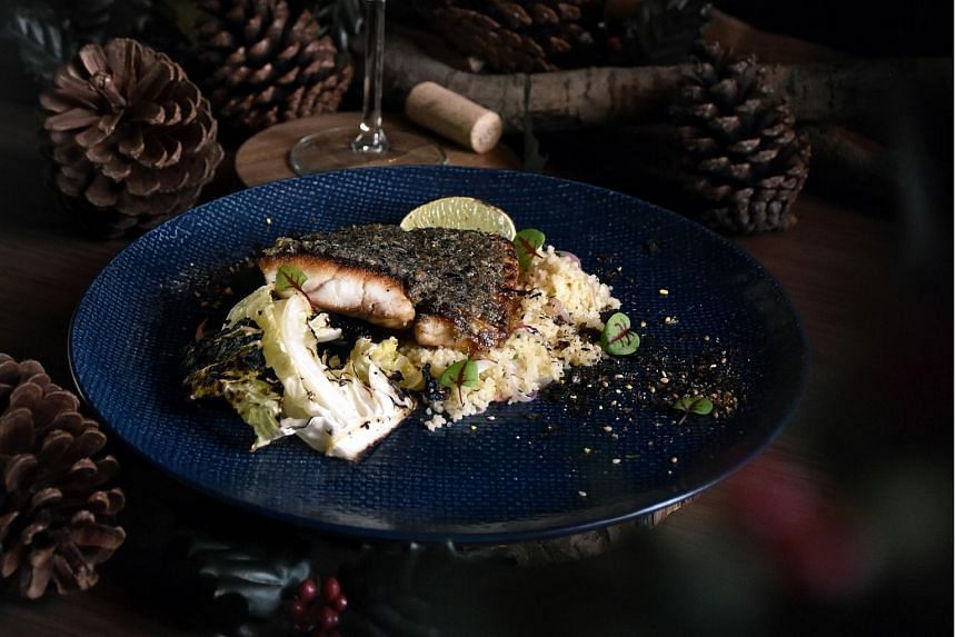Botanico at the Singapore Botanic Gardens offers an a la carte menu of dishes that evoke the yuletide mood.