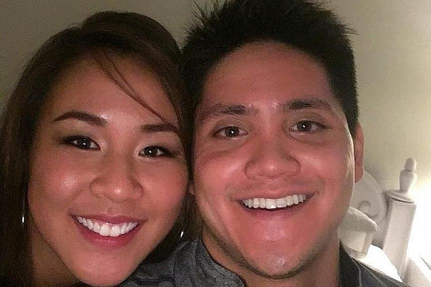 Former Malaysian national swimmer Christina Loh and Joseph Schooling in a picture she posted on Nov 19.