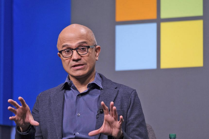 Mr Satya Nadella pivoted Microsoft into the hugely lucrative and expanding cloud arena with the Azure product.
