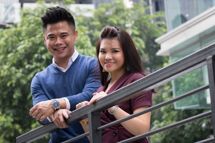 Key account manager Arielle Lee and Manulife financial consultant Samuel Seah, who recommended that she buys the retirement insurance plan, RetireReady Plus. She bought it in August to achieve part of her retirement goal of having cash flows of $4,00