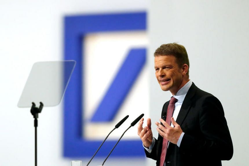 Deutsche Bank CEO Christian Sewing said the bank is not at risk of a takeover.