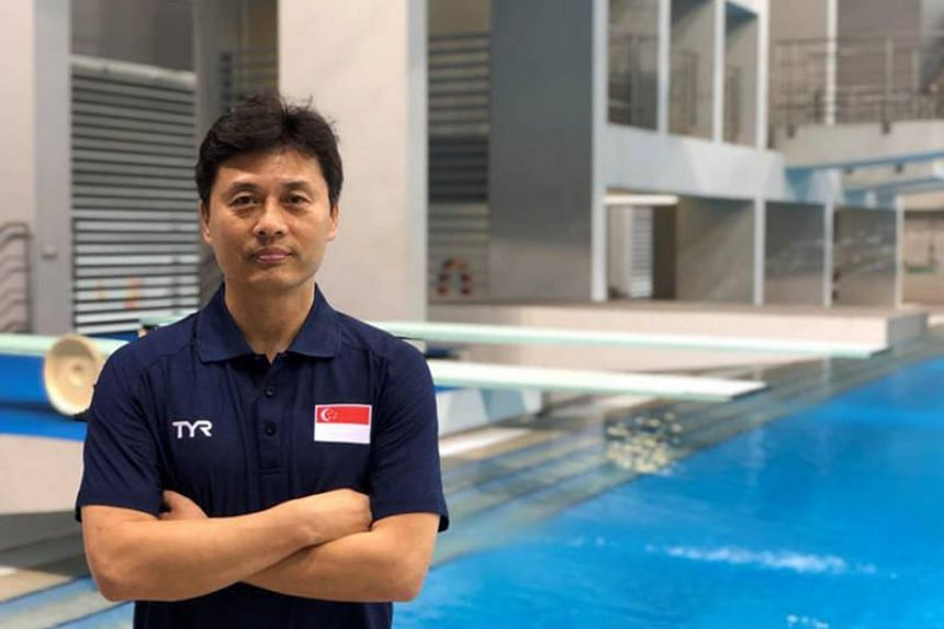 Singapore national diving coach Li Peng believes his divers are taking the right steps towards achieving the goals he's set for them.