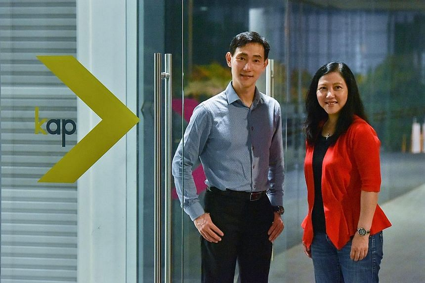 Siblings Julian and Lisa Theng, co-owners of EagleWings Group, the largest tenant at King Albert Park Residences Mall. EagleWings is leading the mall's revamp to be a family-friendly destination, and the Thengs hope to make the once-popular mall vibr