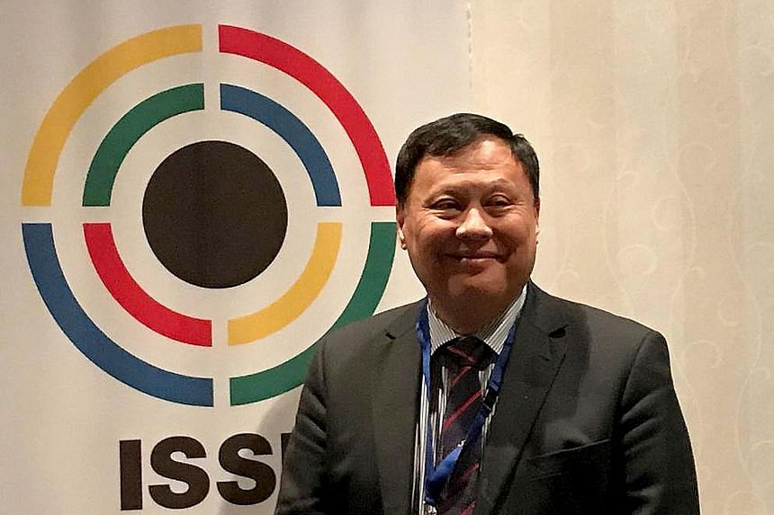 Singapore Shooting Association Michael Vaz was voted into the 15-member ISSF administrative council in Munich, Germany on Saturday. The 64-year-old is the latest Singaporean to be elected as a council member of an international sports association.