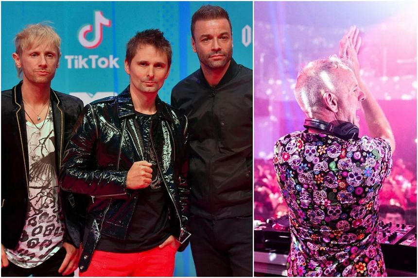 Rock trio Muse and British DJ and producer Fatboy Slim will be performing at the Formula 1 Singapore Airlines Singapore Grand Prix 2019.