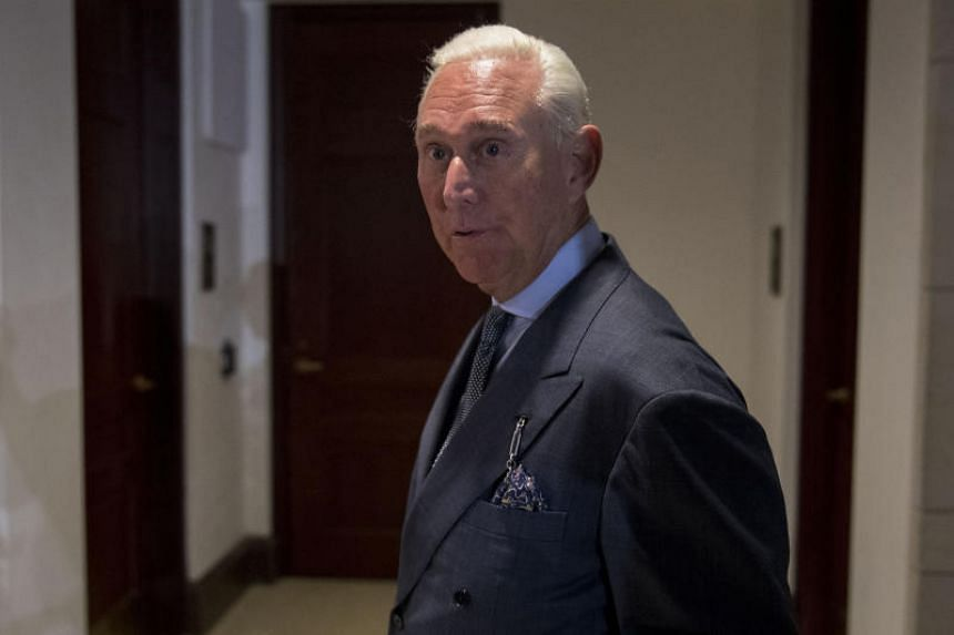 Roger Stone is a former adviser to Donald Trump's presidential campaign.