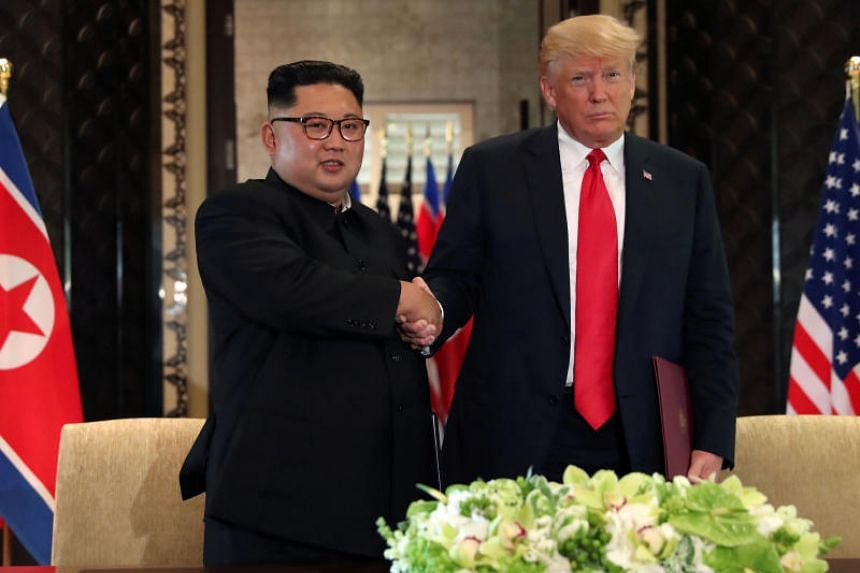 US President Donald Trump and North Korean leader Kim Jong Un held a historic summit in Singapore earlier this year, signing a vaguely worded deal on denuclearisation.