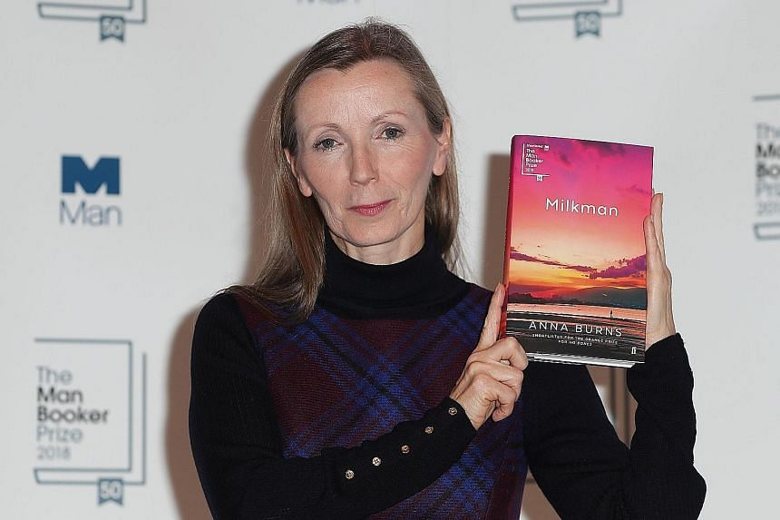 Anna Burns, who won this year's Man Booker Prize for Milkman, has lower back and nerve pain from a botched operation.