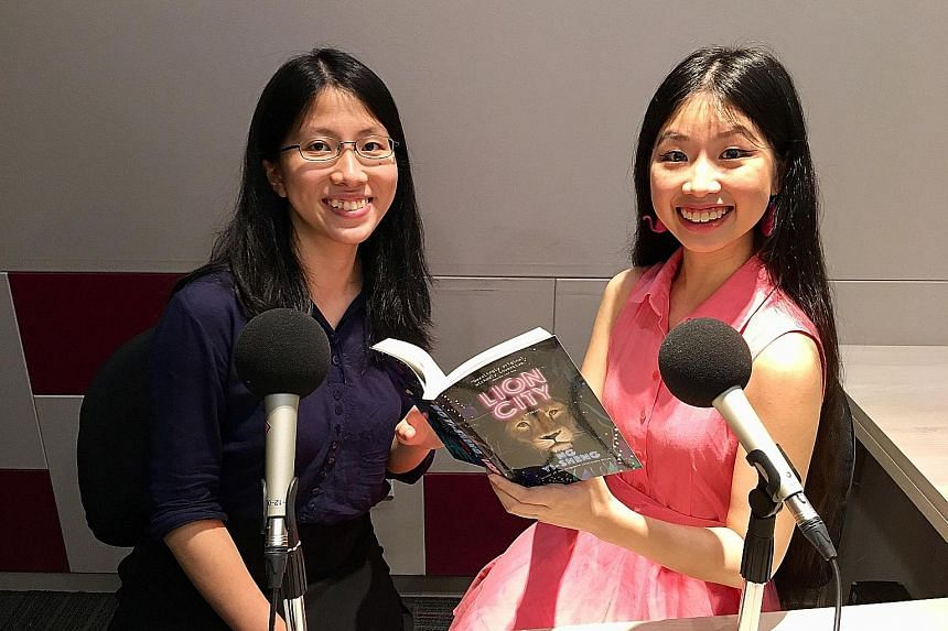 Join reporters Toh Wen Li (far left) and Olivia Ho in their latest podcast.