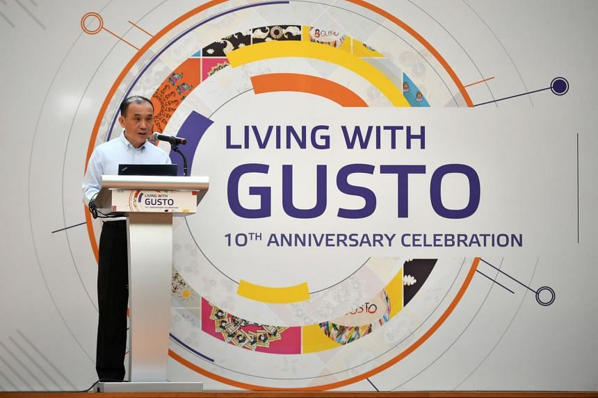 Welcome address by Mr Lim Chuan Poh, chairman of A*Star, at Gusto's 10th anniversary celebration at National Gallery Singapore on Dec 4, 2018.