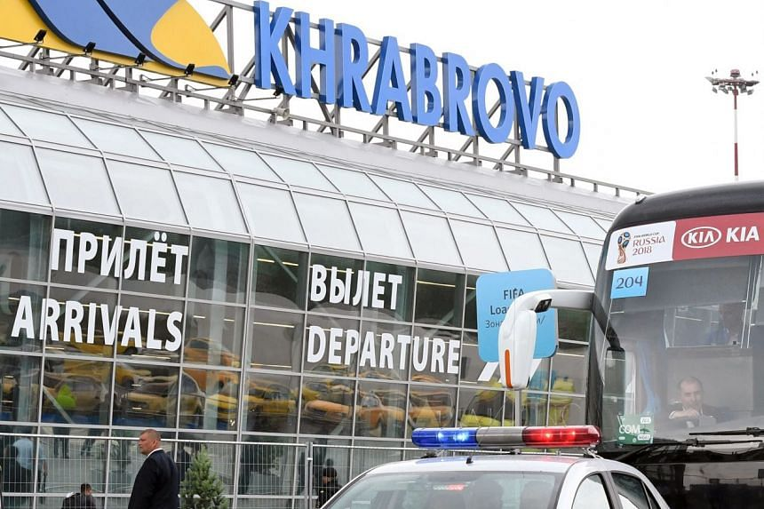 Kaliningrad's Khrabrovo airport. German philosopher Immanuel Kant has sparked surprising tensions in his Russian hometown over the prospect of naming this airport after him.