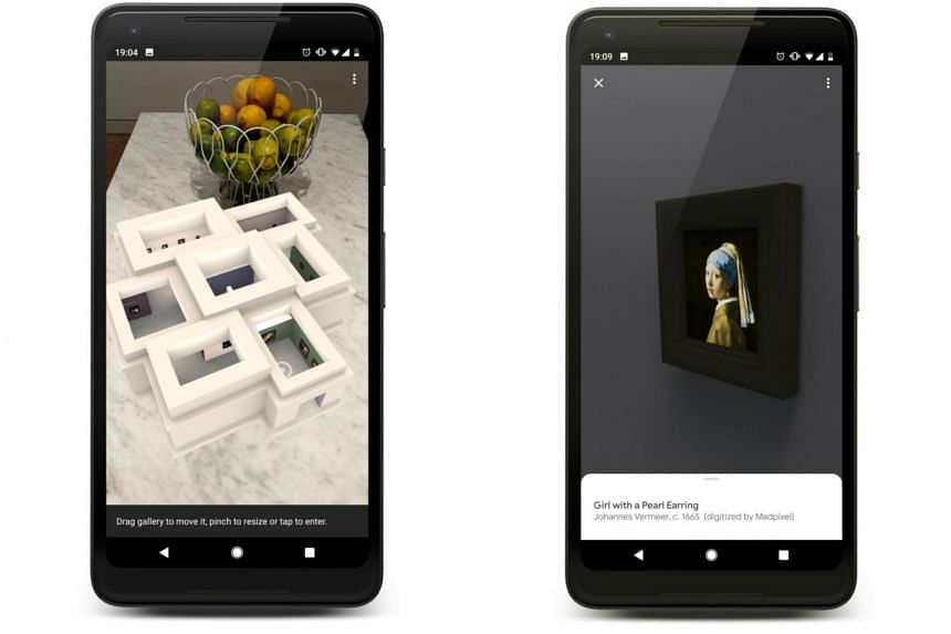 The Mauritshuis museum in The Hague has teamed up with Google Arts & Culture in Paris to build an augmented-reality app that creates a virtual museum featuring all of the artist's works.