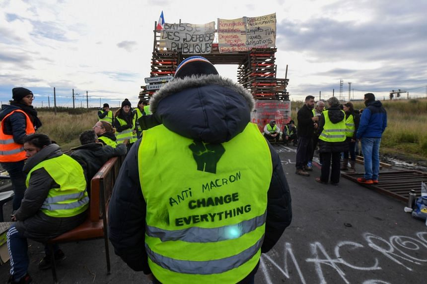 """The French government had kept an aloof stance towards the """"yellow vest"""" protests until late last week, hoping the movement would peter out."""