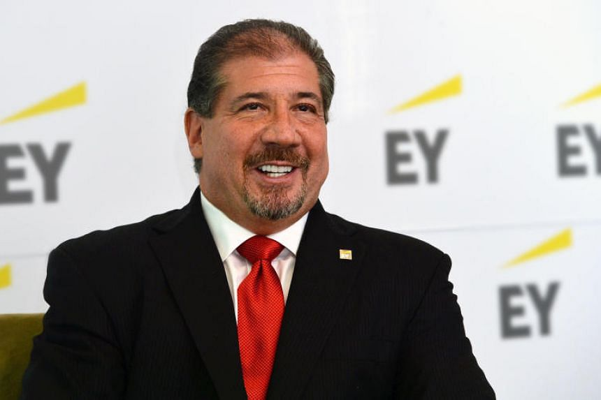 Mr Weinberger has served as EY's global chairman and chief executive since 2013.