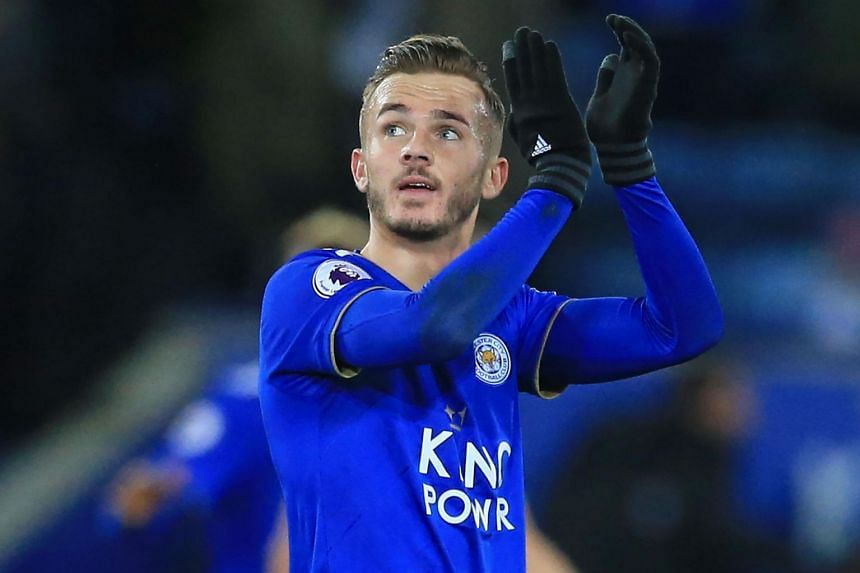 It is rare for a young English midfielder to be compared to Glenn Hoddle, but Leicester manager Claude Puel, who played with Hoddle at Monaco, reserved such praise for James Maddison (pictured).