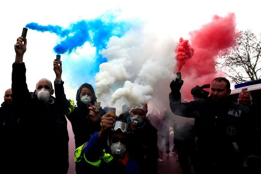 Yellow Vest protests have occurred around the country, but have been concentrated in Paris, mostly on Saturdays.